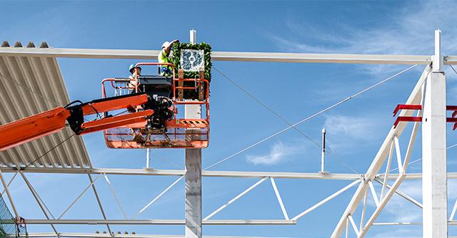 Photo of The E‑Turbo construction site